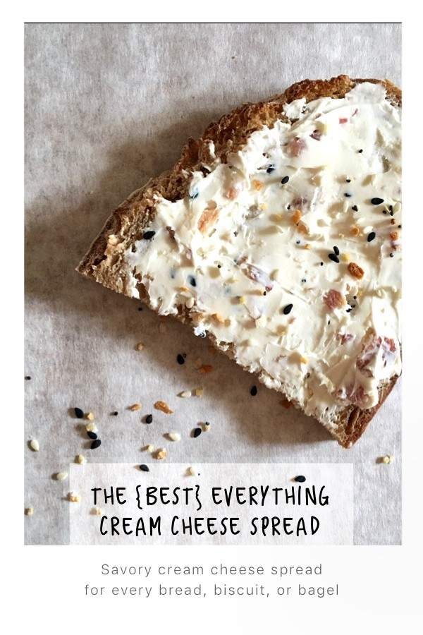 the best everything cream cheese spread