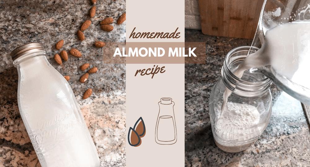 Almond Milk Recipe by Simply Sobol